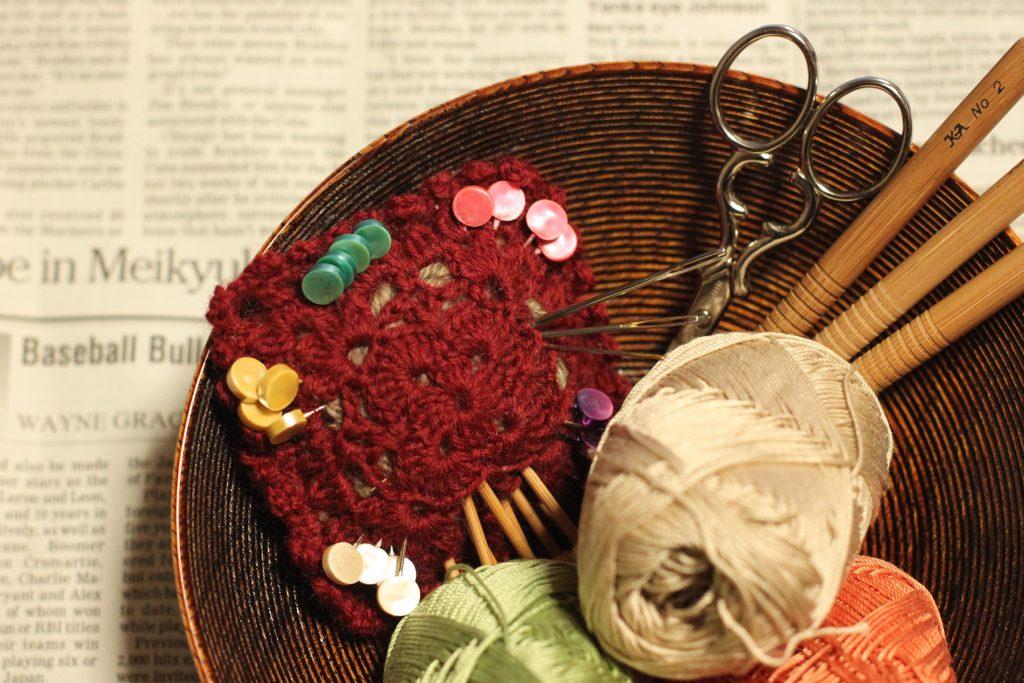 編み編み道具