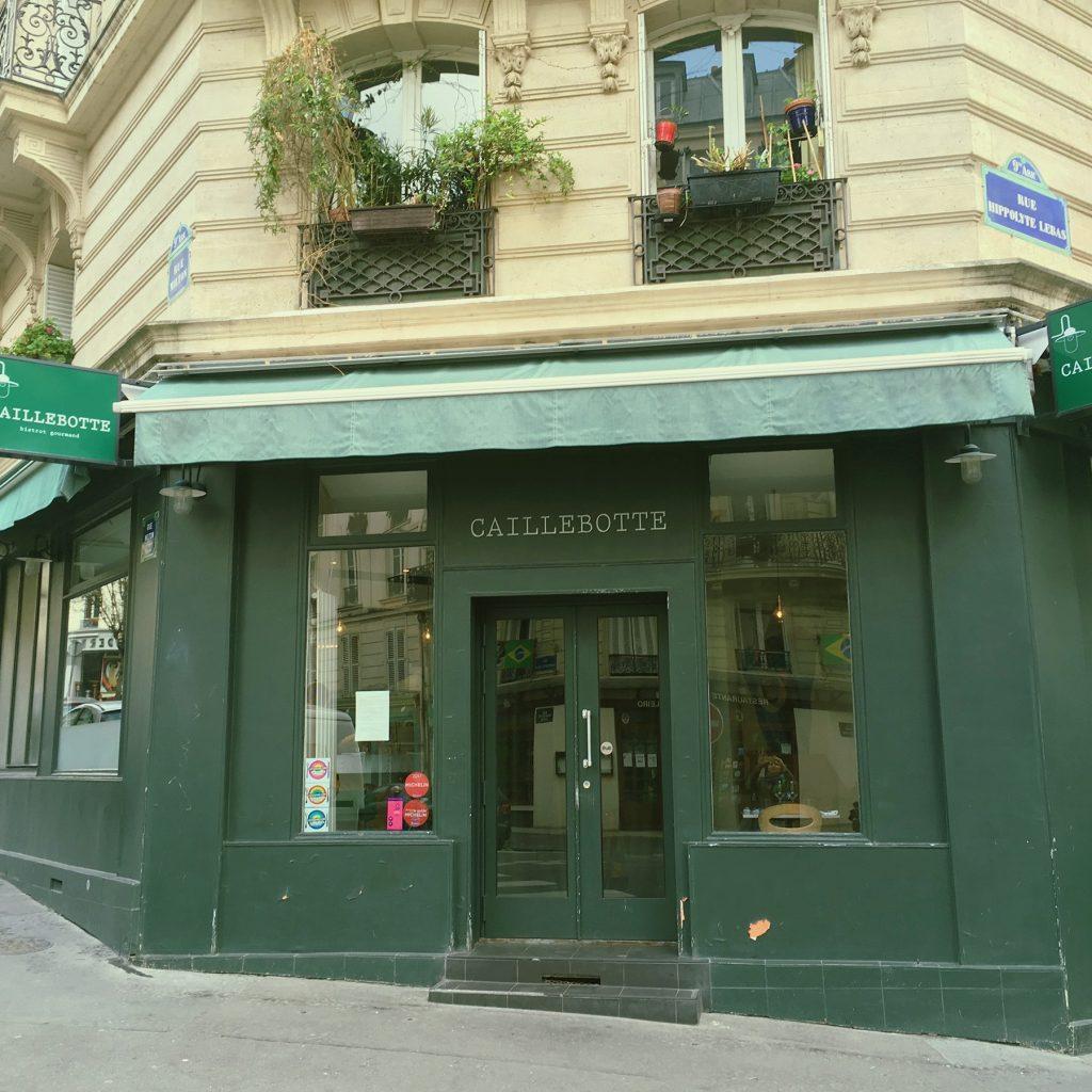 Restaurant Caillebotte @ Paris