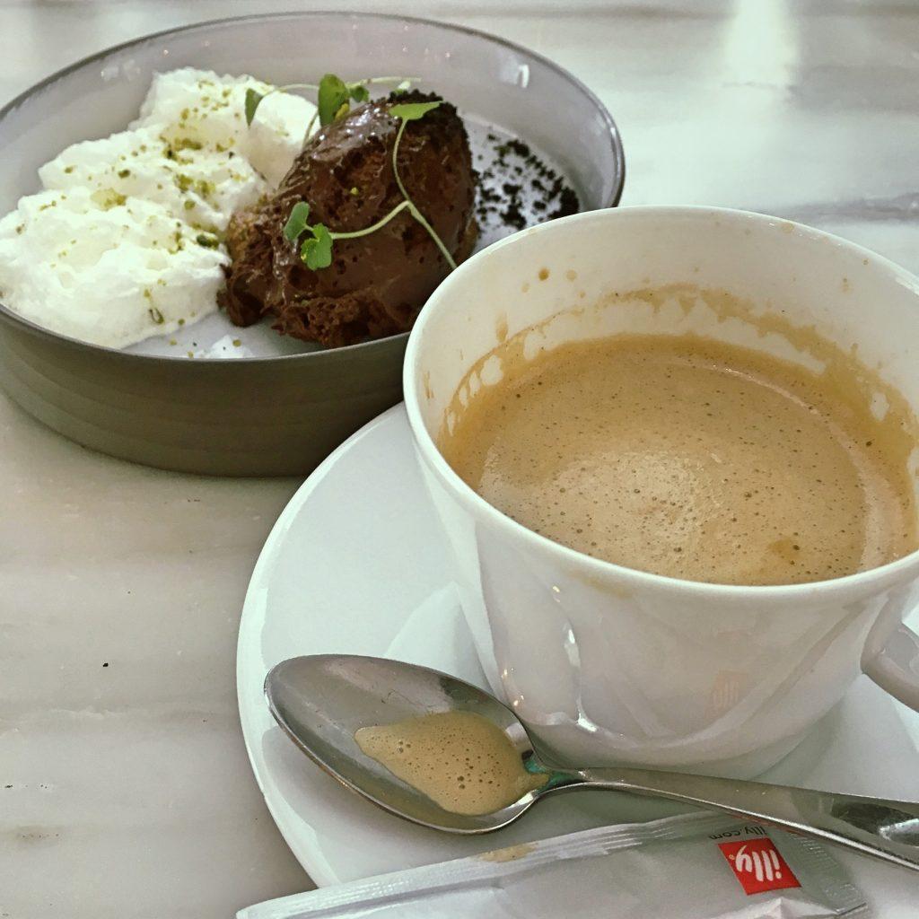 ムース・オ・ショコラとカフェ・クレーム @ Caillebotte