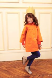 すっぽりコート オレンジ #6