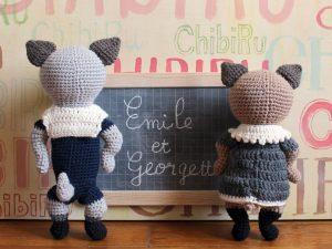 Émile & Georgette - Back