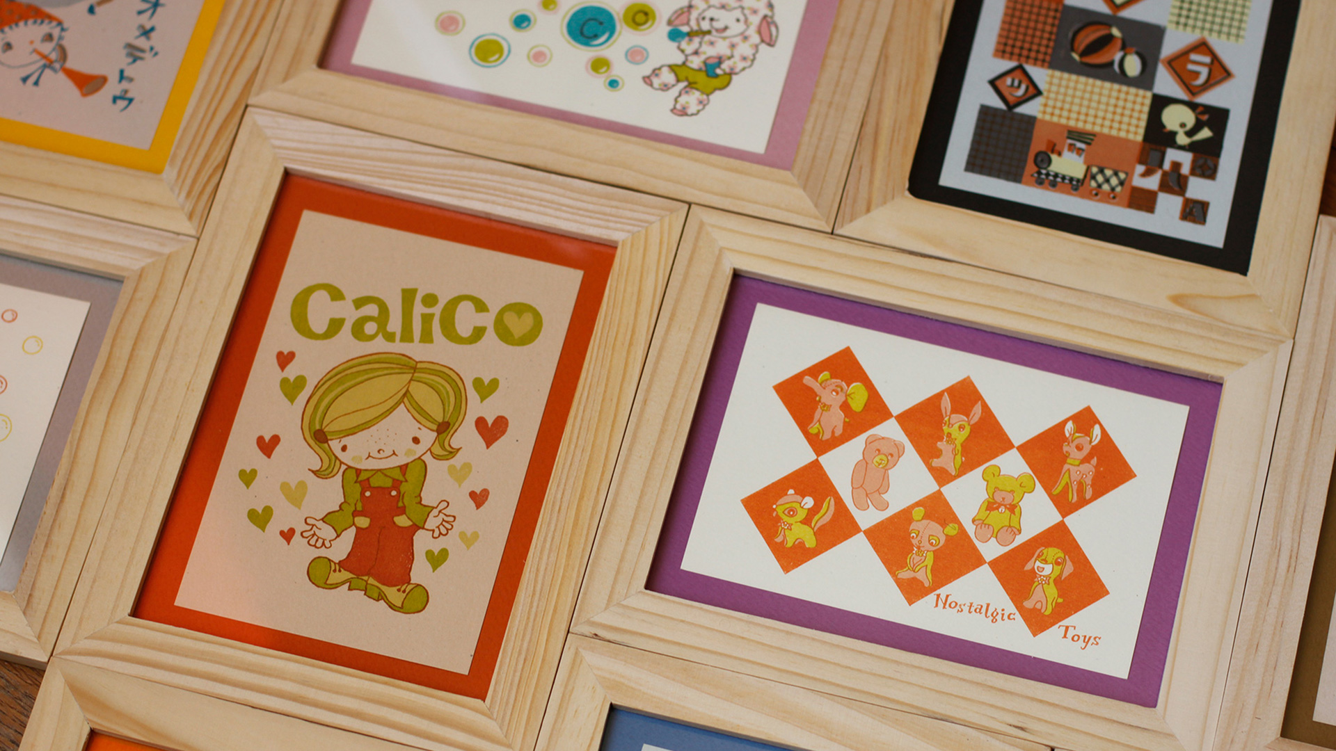 ChibiRu's Hand-Printed Postcards