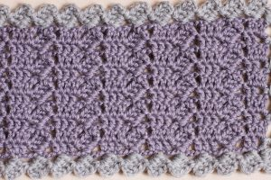 Col en crochet - Zoom up