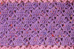 Col en crochet - Zoom up