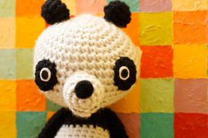 Panda le Jardinier - Zoom up