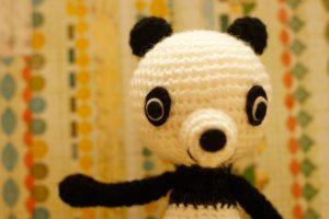 Mini Panda - Zoom up