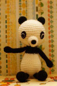Mini Panda - Sitting