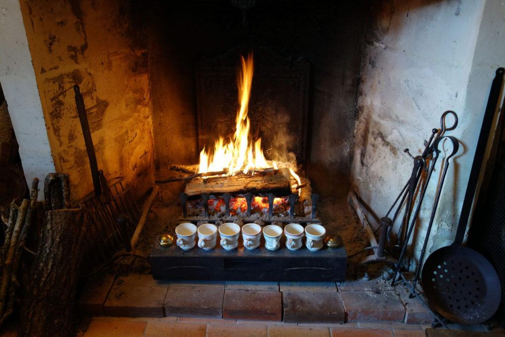 マリー=クレールの暖炉