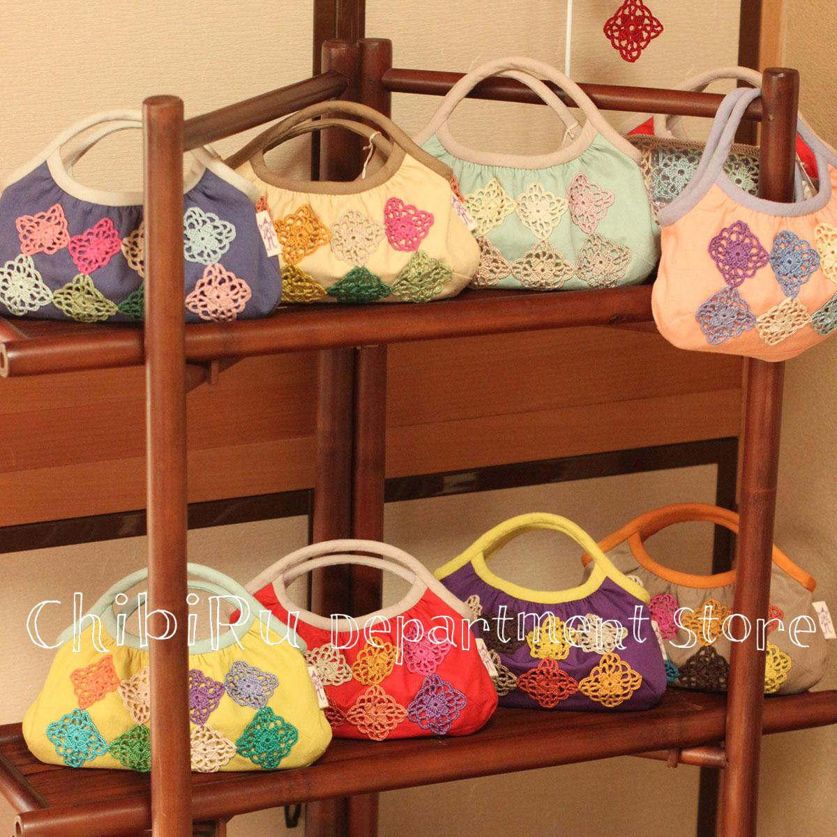 Spica Bags in bag on the Exhibition